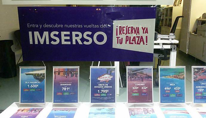 El Gobierno congela por cuarto año la dotación de los viajes del Imserso