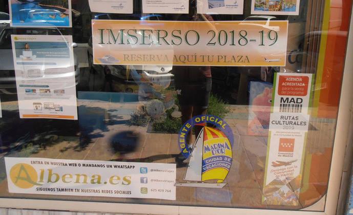 La venta del Imserso se hará en dos fases y arrancará los días 14 y 16 de octubre