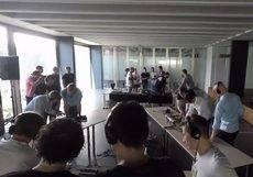 La actividad U·Playground 'special dj edition' de High Fidelity Collective.