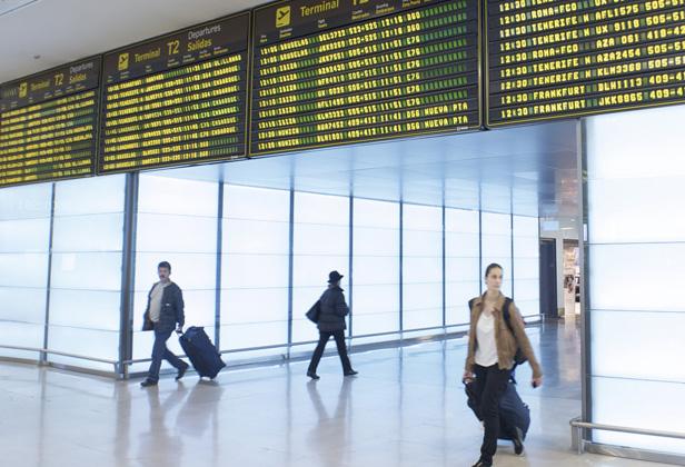El tráfico aéreo doméstico gana cuota de mercado
