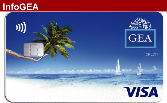 GEA y BBVA lanzan al mercado la nueva tarjeta VISA GEA
