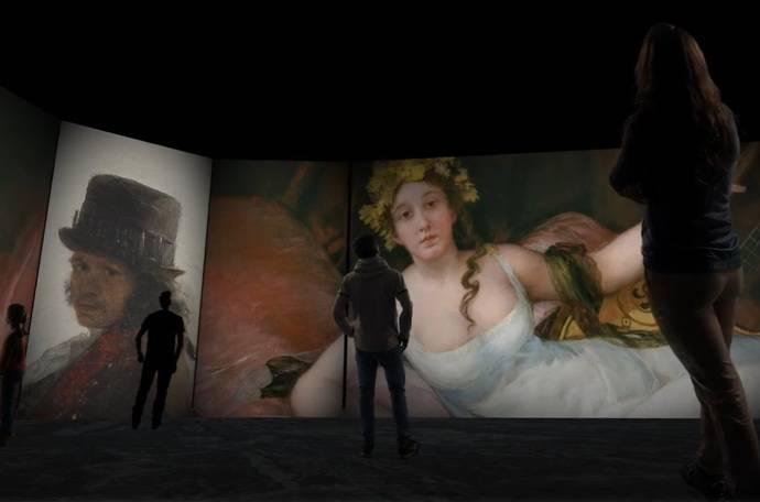 Goya, en el Palacio de Congresos granadino