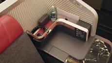 Detalle de uno de los asientos de las nuevas cabinas de la aerolínea.