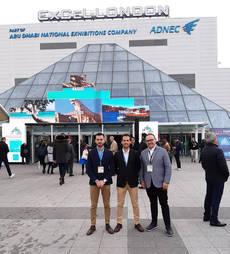 Delegación de Viajes InterRías en la WTM.