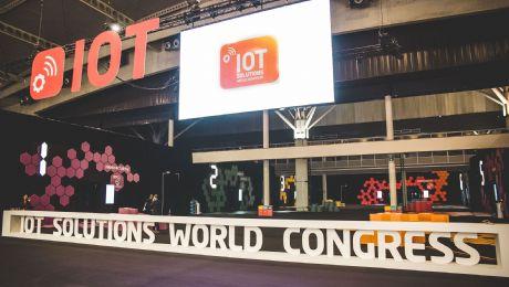 IOT Solutions World Congress, en la Fira, en mayo de 2022