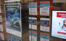 El precio de los 'paquetes' turísticos cae tímidamente