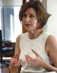 La nueva secretaria de Estado de Turismo, Isabel Oliver.