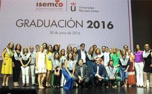 ISEMCO gradúa a sus primeros alumnos en eventos