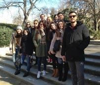 Alumnos del ISPE visitan diferentes espacios para eventos en Madrid