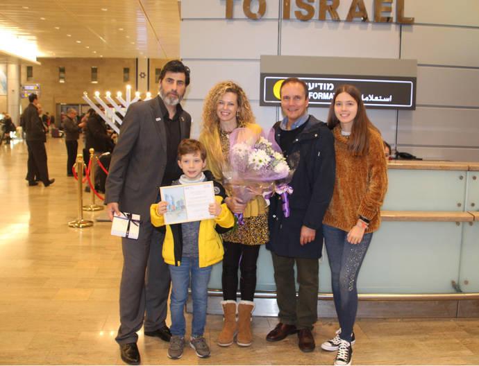 Israel alcanza la cifra récord de 100.000 españoles