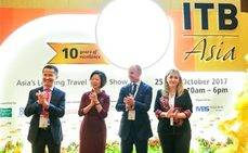 Andalucía presenta su oferta MICE en la feria ITB Asia