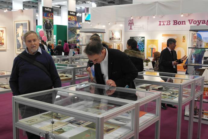 Miles de asistentes a la exposición de libros de la ITB