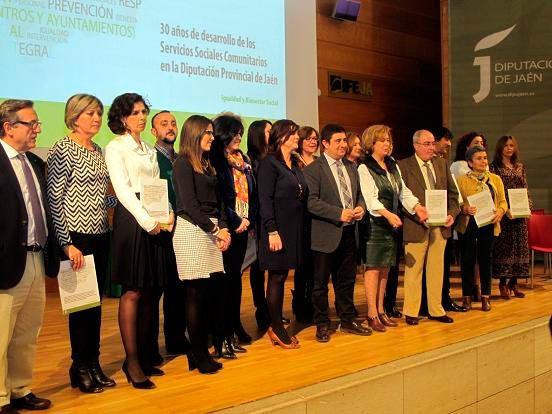 El Palacio de Jaén acoge un encuentro por los servicios sociales