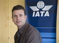 El director de IATA en España, Javier Valdés.