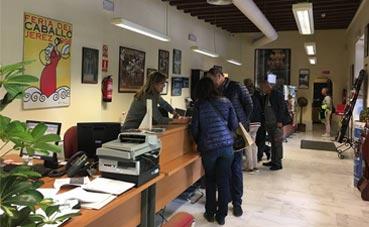 Jerez realiza numerosas acciones promocionales