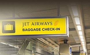 Jet Airways facilita la facturación del equipaje en el metro