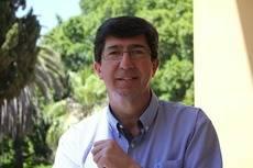 El consejero de Turismo de la Junta de Andalucía, Juan Marín.