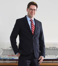 El director general de Norwegian Cruise Line en Europa, Kevin Bubolz.