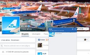 KLM emite tarjetas de embarque por Facebook Messenger