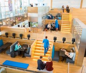 KLM inaugura su Sala VIP Crown para pasajeros no Schengen