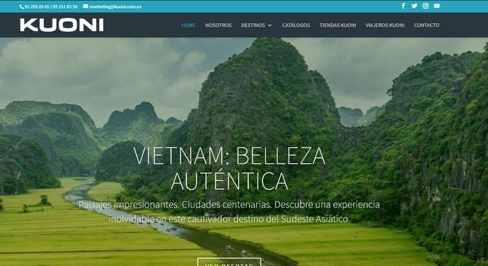 Kuoni España desarrolla una nueva página web