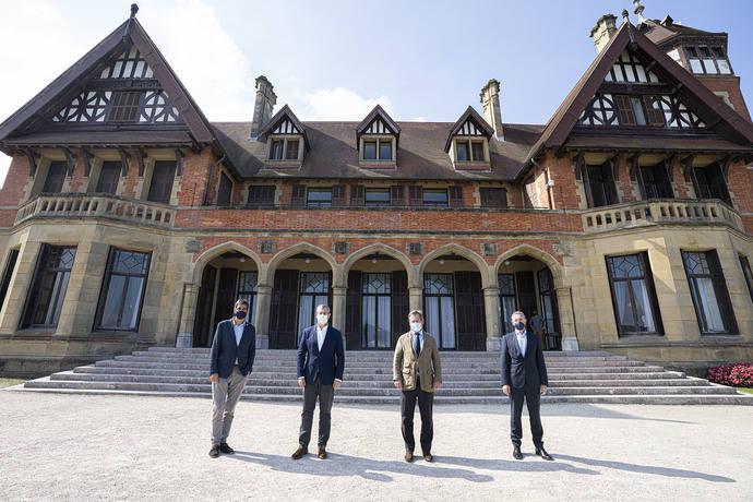La Fundación Kutxa estudiará la posibilidad de unir el Palacio de Congresos Kursaal con la Sala Kubo