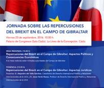 El Palacio de Congresos de La Línea analiza el Brexit en el Campo de Gibraltar