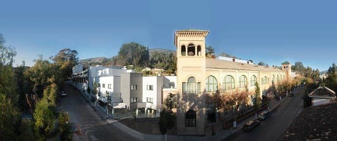 Vista general del Balneario de Lanjarón (Granada).