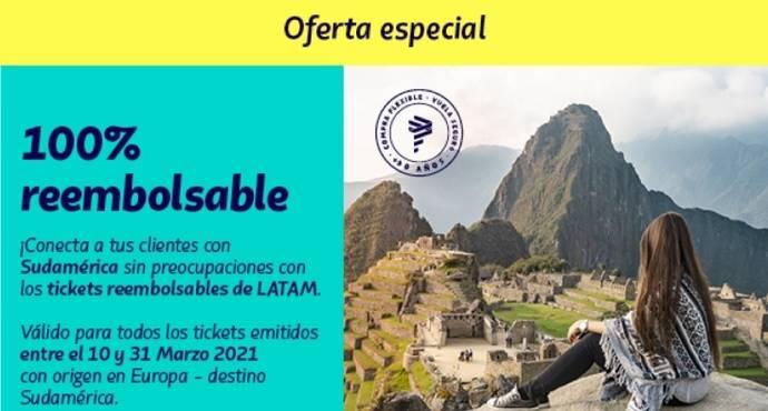 Latam Airlines lanza una campaña de billetes flexibles
