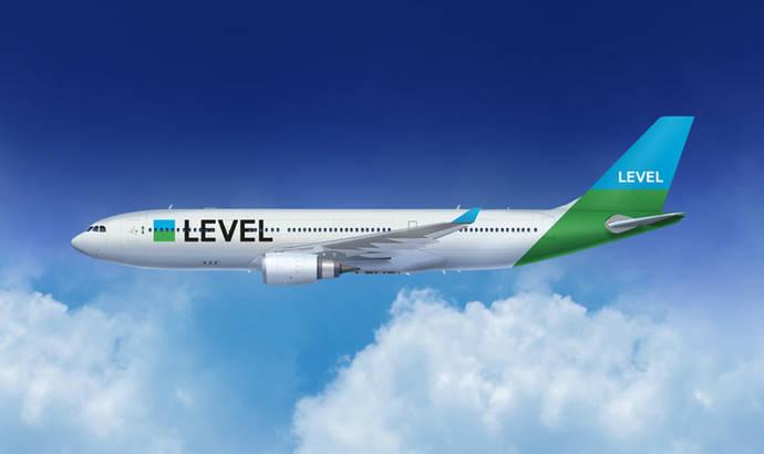 Level incorporará tres aviones nuevos en el verano de 2018