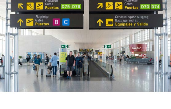 La llegada de turistas extranjeros a España cae un 98% en junio