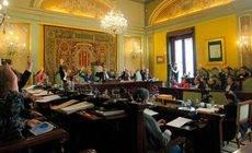 El Pleno del Ayuntamiento de Lleida.