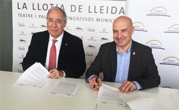 La Llotja acogerá congresos de la Universidad Lleida