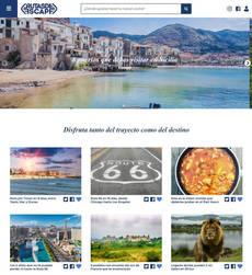 La página web ofrece 280 rutas.