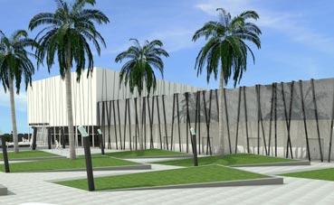 Dudan de las obras del Centro de Congresos de Lorca