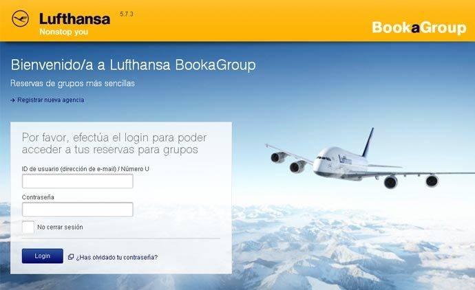 Lufthansa crea una plataforma para reservas de grupo