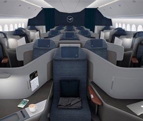Lufthansa presenta su nueva Business Class para 2020
