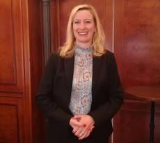 La directora general de Lufthansa Group para España y Portugal, Julia Hillenbrand.