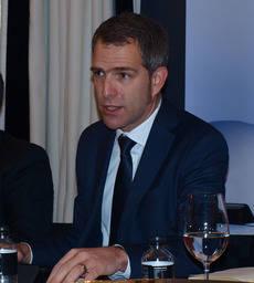 El director general de Lufthansa Group para España y Portugal, Carsten Hoffmann.