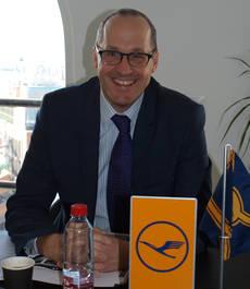 El vicepresidente de ventas del grupo en EMEA, Stefan Kreuzpaintner.