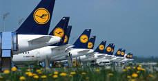 Más de 215.000 afectados por la huelga de Lufthansa
