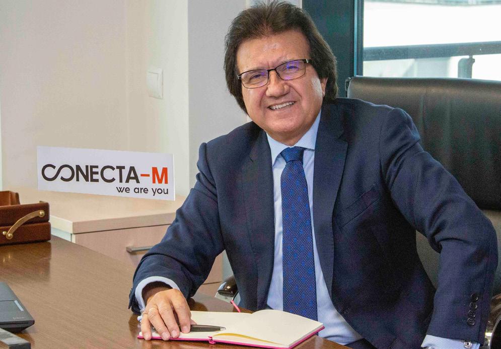 Luis Mata lanza junto a su hijo la marca Conecta-M