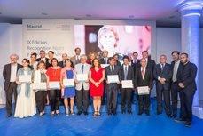 Todos los homenajeados por el MCD y la delegada Celia Mayer.