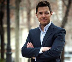 El fundador de Forward_MAD, Fabián González.