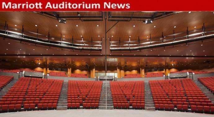 El evento que tú elijas, en Marriott Auditorium