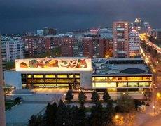 El Palacio de Congresos de Madrid, antes de su cierre en diciembre de 2012.