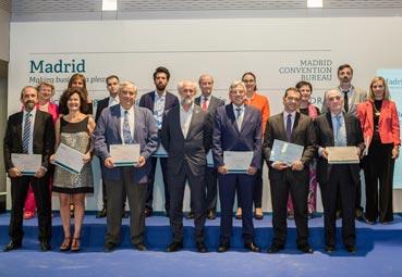 Madrid premia a 16 nuevos prescriptores de congresos