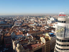 Madrid acapara cerca del 10% del gasto total de los turistas extranjeros.