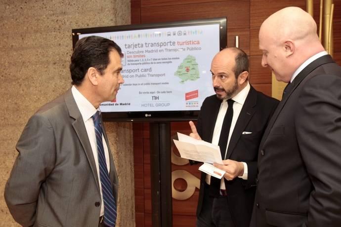 El CRTM y NH fomentan el uso de la Tarjeta Turística de Transporte