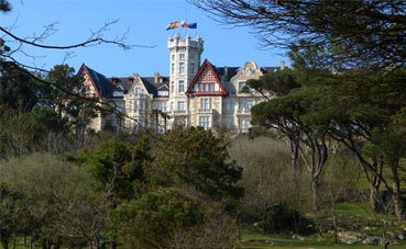 El Palacio de la Magdalena restaura una de sus salas